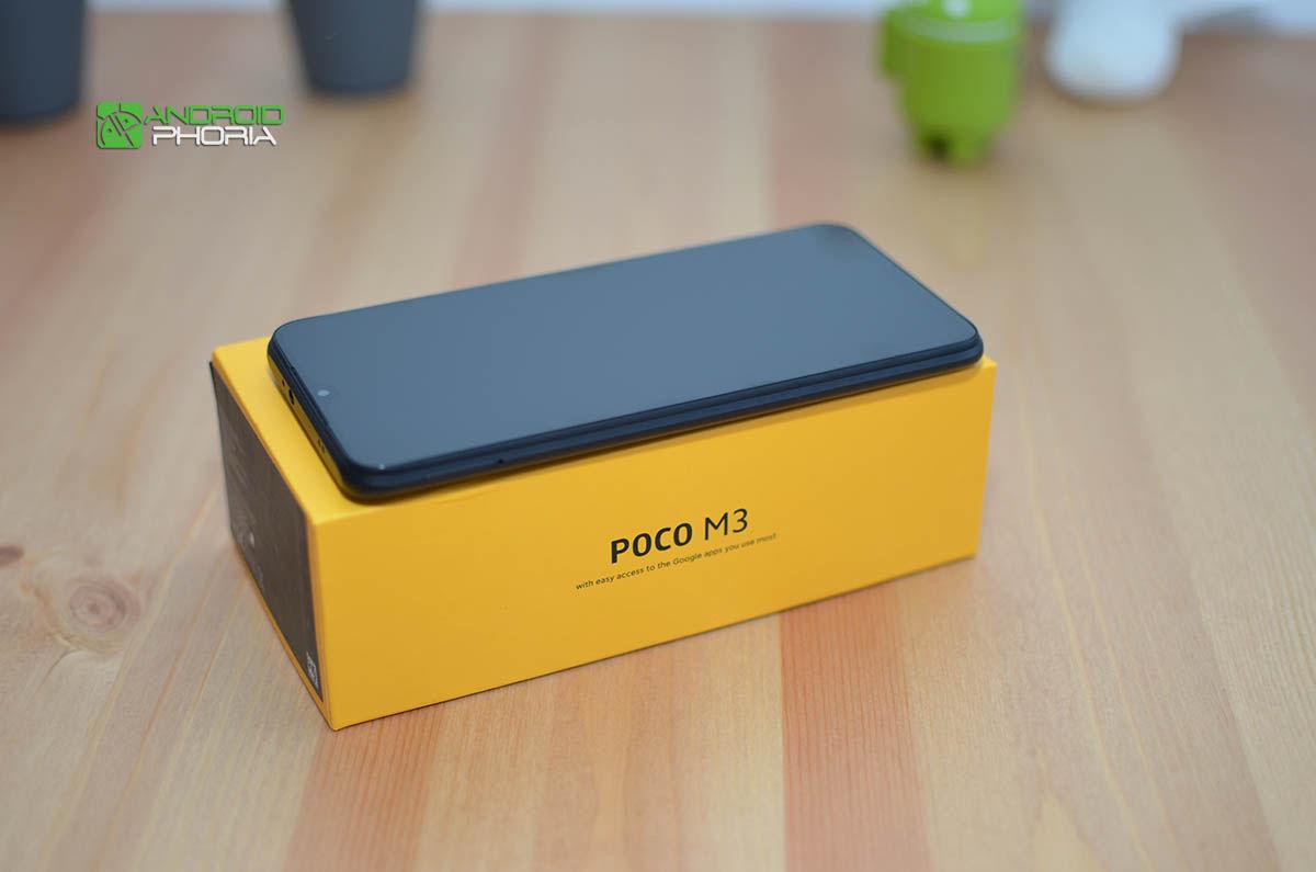 Lateral Poco M3