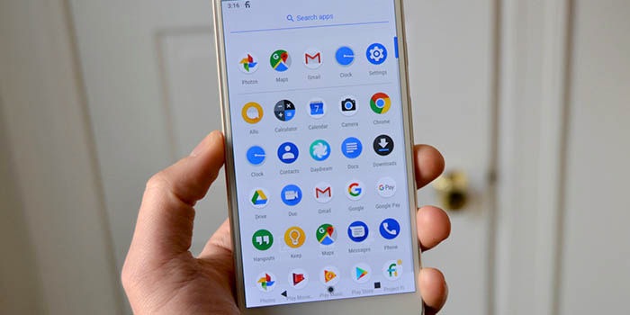 Launcher Android P Pixel
