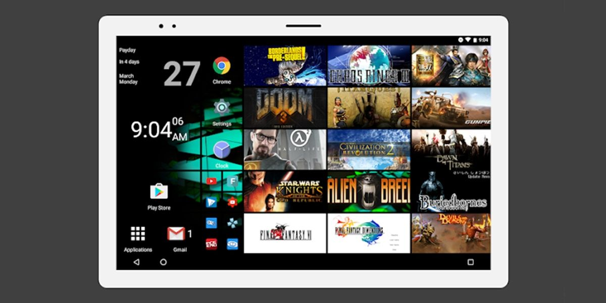 Launcher Square Home para Android tv