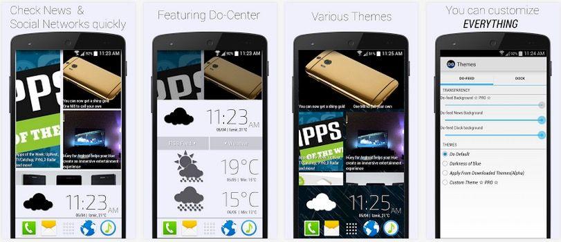 Launcher de HTC para cualquier Android