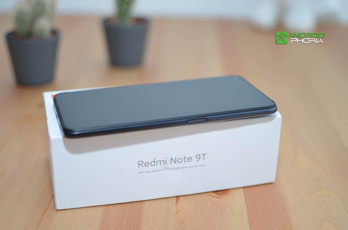 Lector de huellas Redmi Note 9T