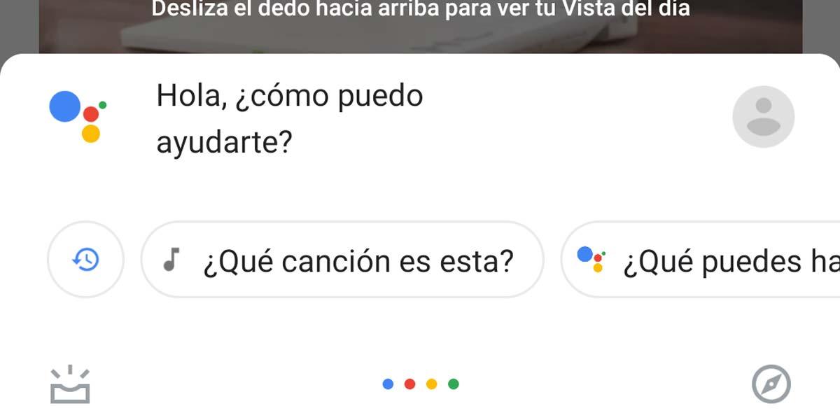 Lectura web con el asistente de Google