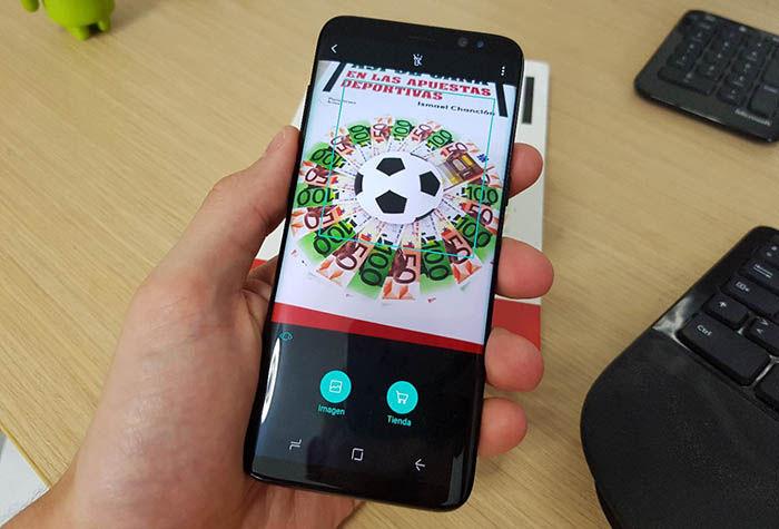 Leer Bixby Galaxy S8