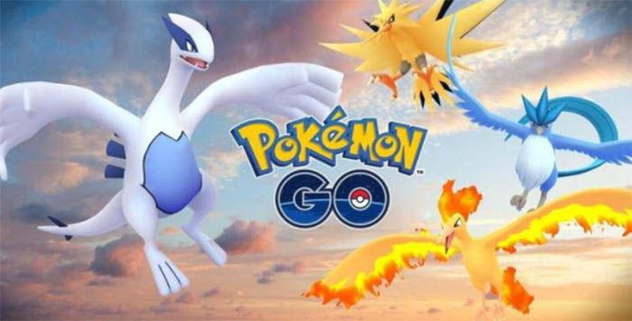 Legendarios de Pokemon Go