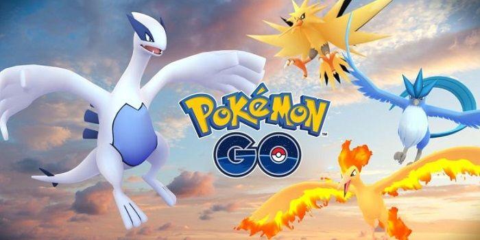 Legendarios en Pokémon Go