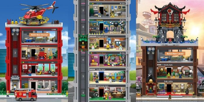 Lego Tower en Android