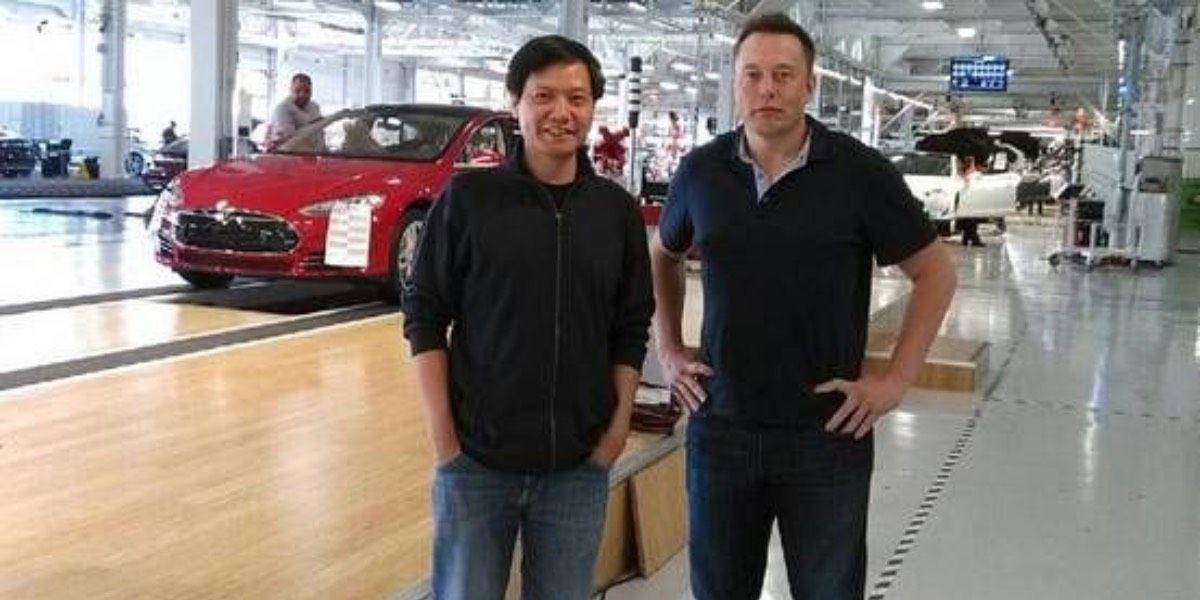 Lei Jun y Elon Musk