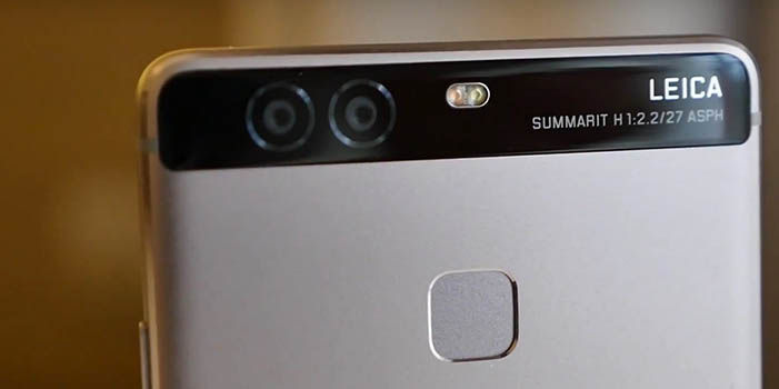 Leica en Huawei P9