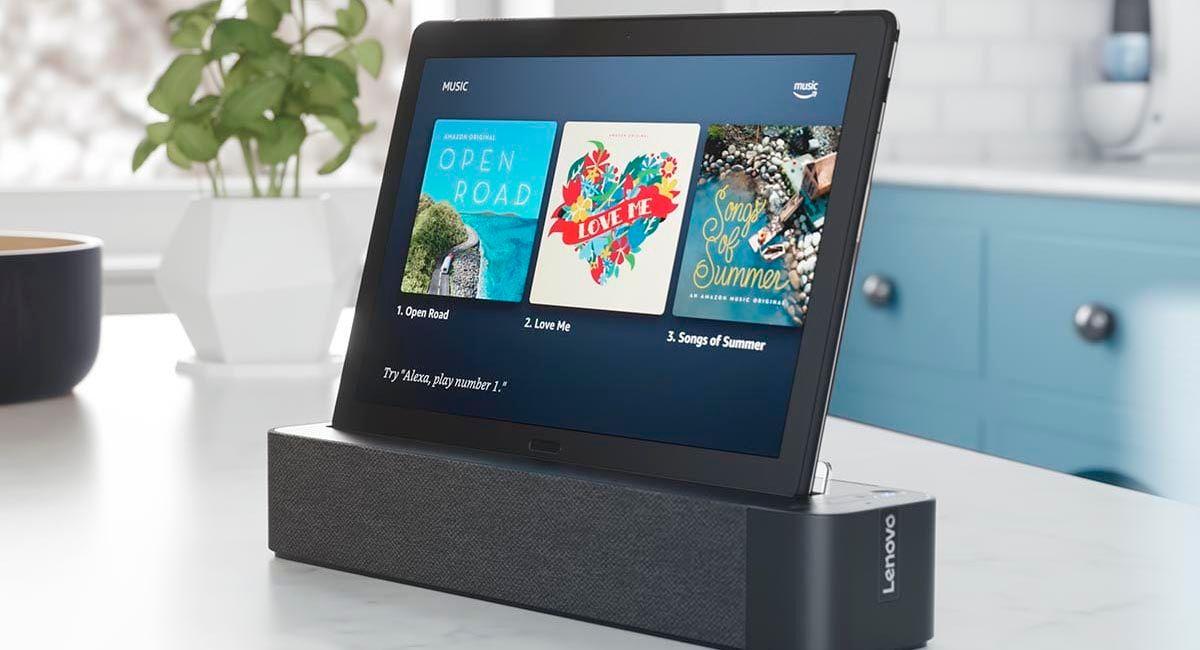 Lenovo Smartab M10 compatible con Alexa