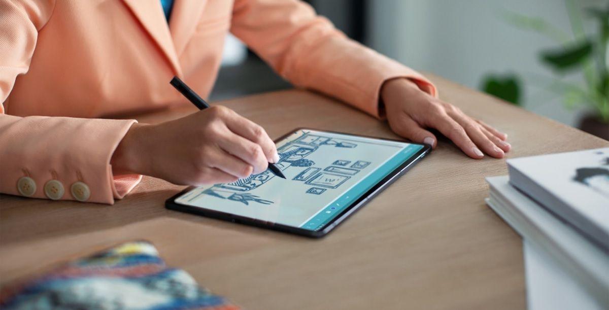 Lenovo XiaoXin Pad Pro tablet dibujar