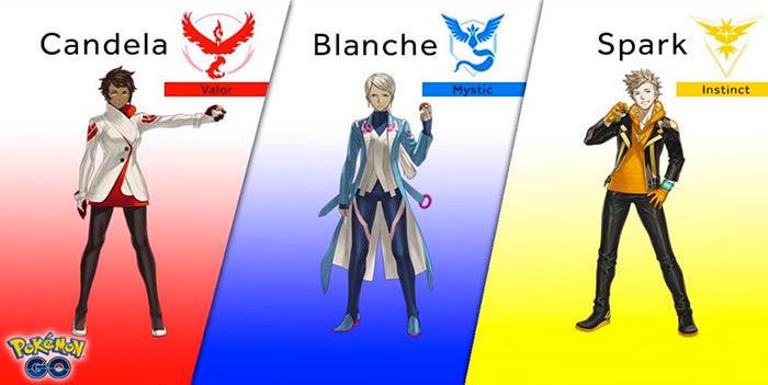 Lideres equipo Pokemon