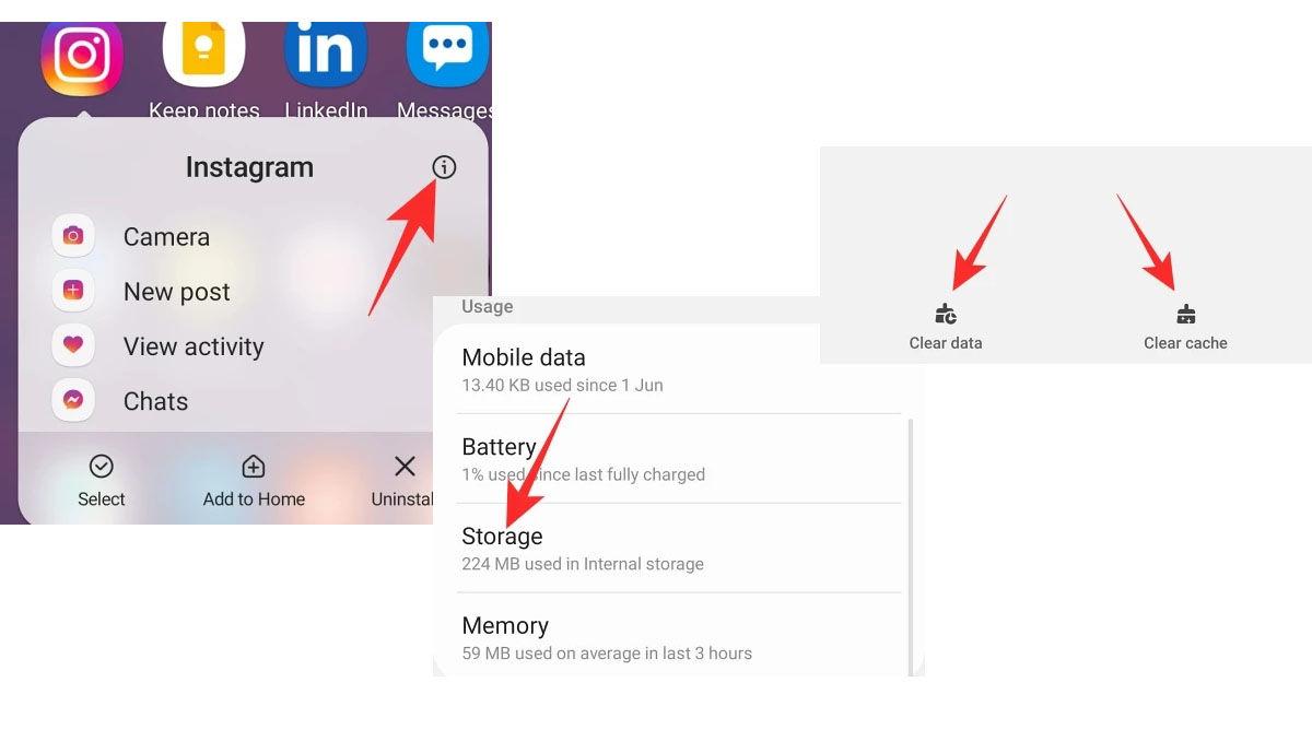 Limpiar el caché de la app de Instagram desde iPhone o iPad