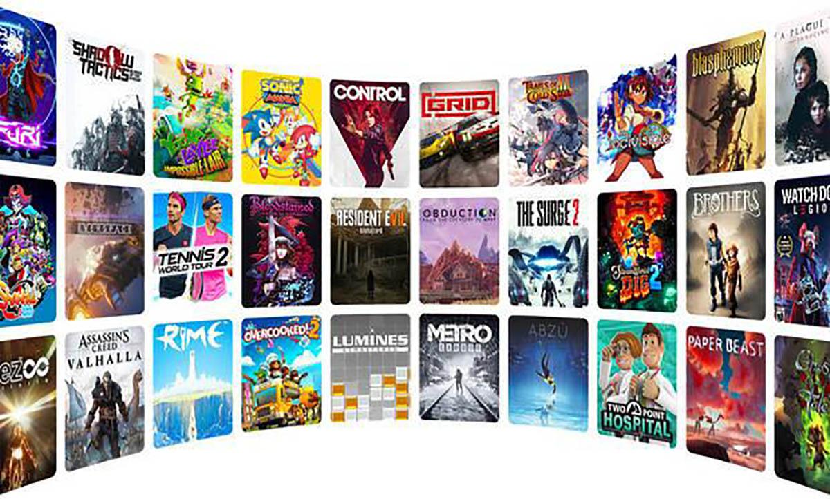 Lista de juegos Amazon Luna