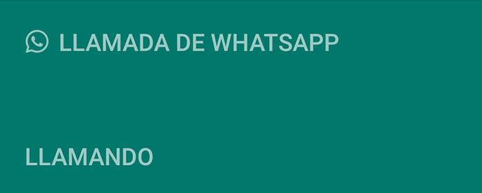 Llamada de WhatsApp