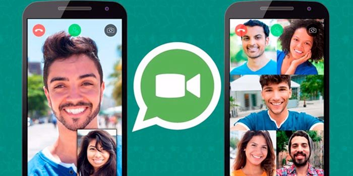 Llamadas en grupo WhatsApp