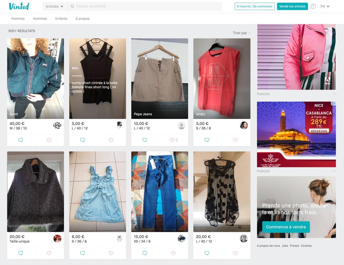 Lo mejor de usar Vinted para comprar y vender ropa de segunda mano en Vinted