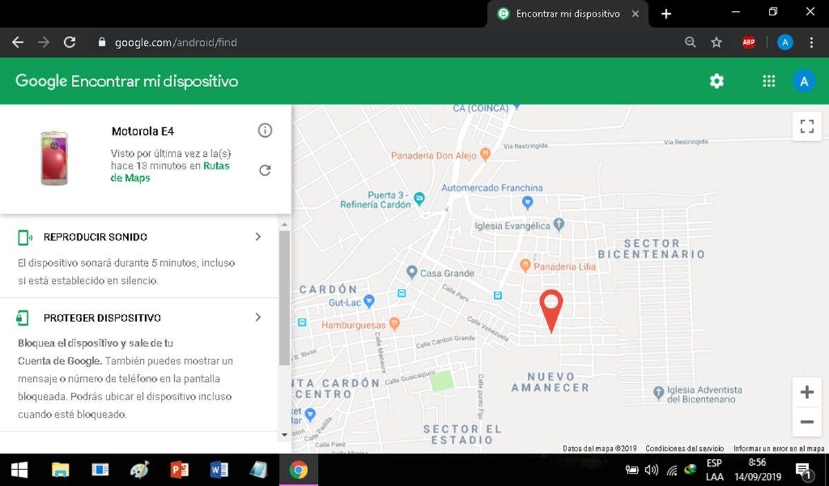 Localizador GPS Encontrar mi dispositivo