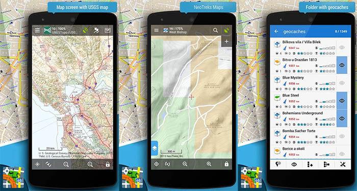 Locus map pro capturas
