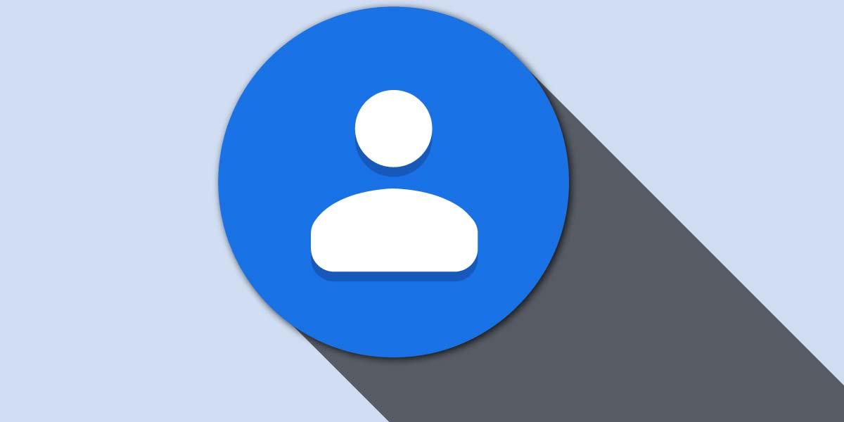 Logotipo de contactos de Google
