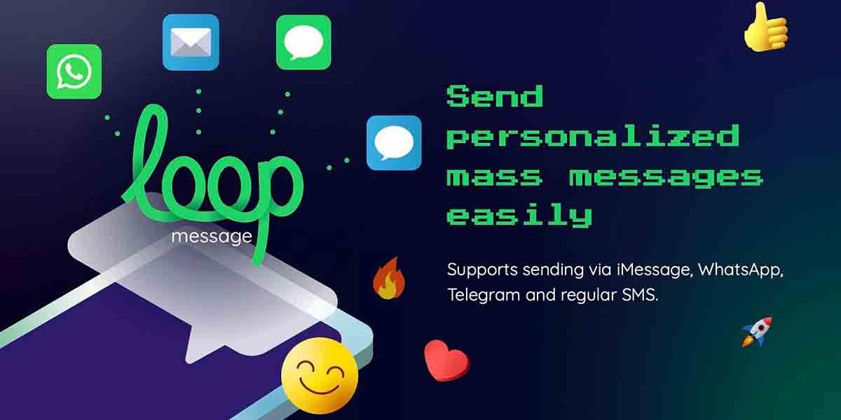 LoopMessage mensajes masivos desde MacOS