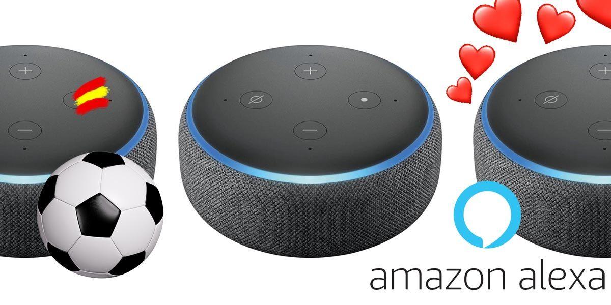 Los 12 modos secretos de Alexa para los Amazon Echo en España