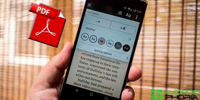 Los 15 mejores lectores de PDF para Android