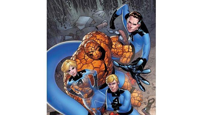 Los 4 Fantásticos Marvel