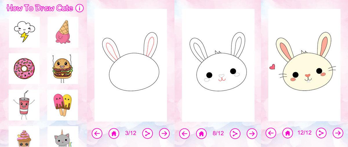 Los dibujos Kawaii son el estilo de dibujo más lindo y adorable