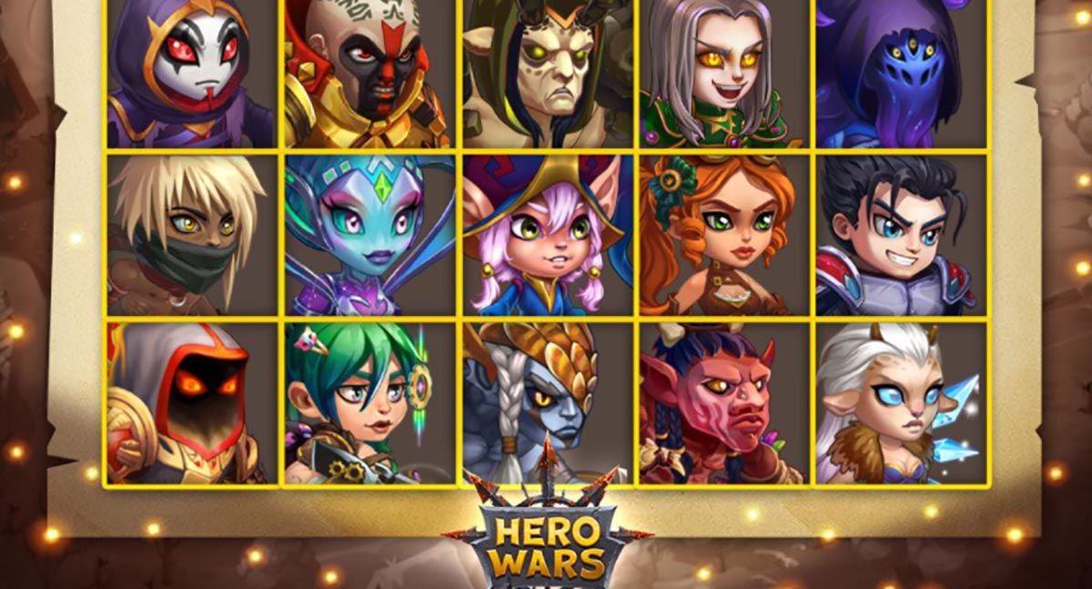 Los mejores counters para personajes Hero Wars