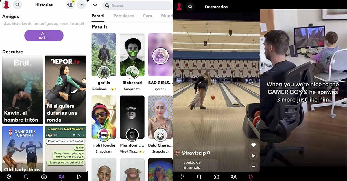 Los mejores filtros para tus fotos están en Snapchat