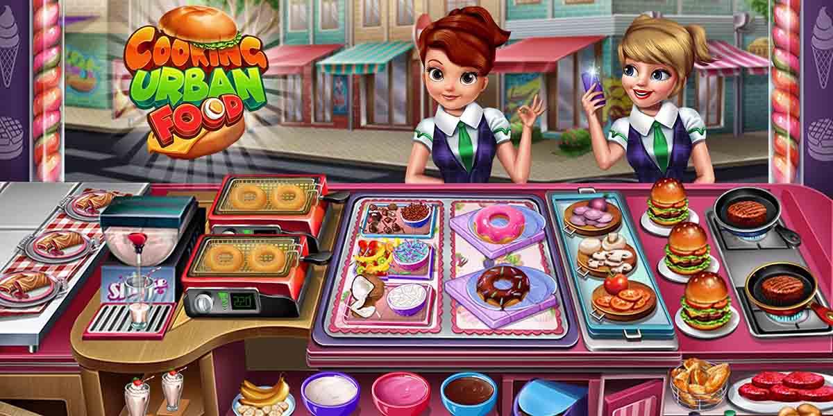 Los mejores juegos de cocina para tu móvil. Cocinar Comida Urbana