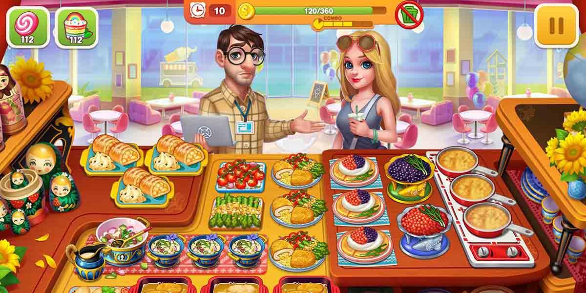Los mejores juegos de cocina para tu móvil. Cooking Hot