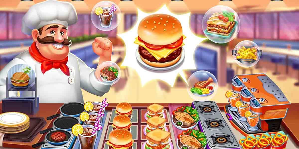 Los mejores juegos de cocina para tu móvil. Crazy Chef