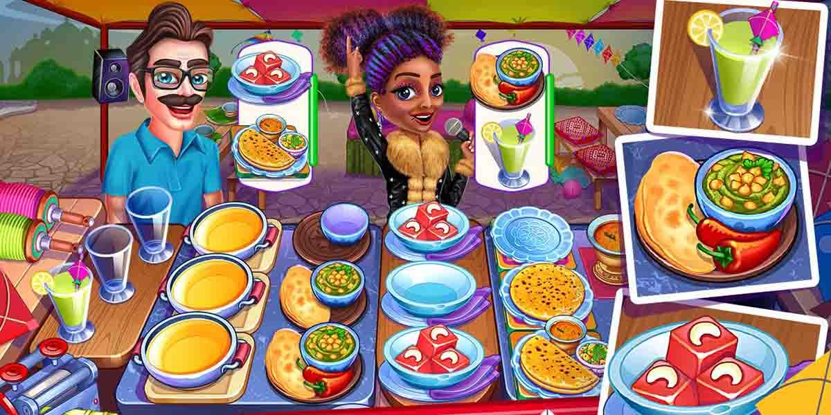 Los mejores juegos de cocina para tu móvil. My Cafe Shop