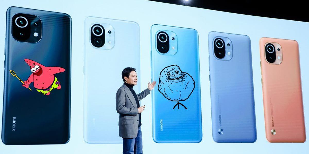 Los mejores memes del Xiaomi Mi 11