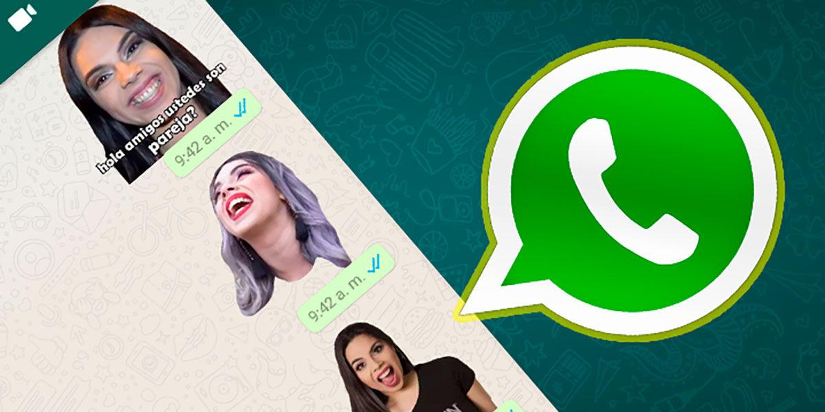 Los mejores stickers de YouTubers para WhatsApp