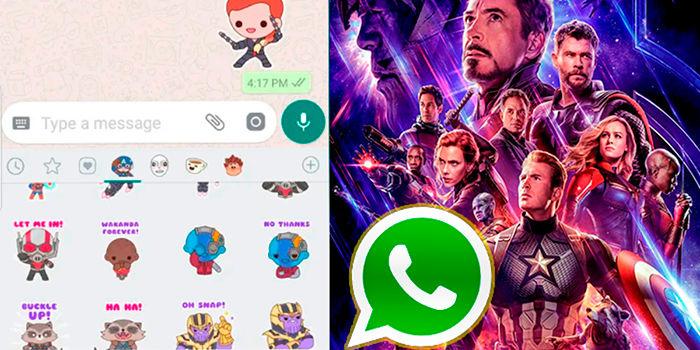 Los mejores stickers de los vengadores WhatsApp Telegram