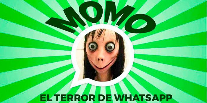 Los peligros de Momo en WhatsApp