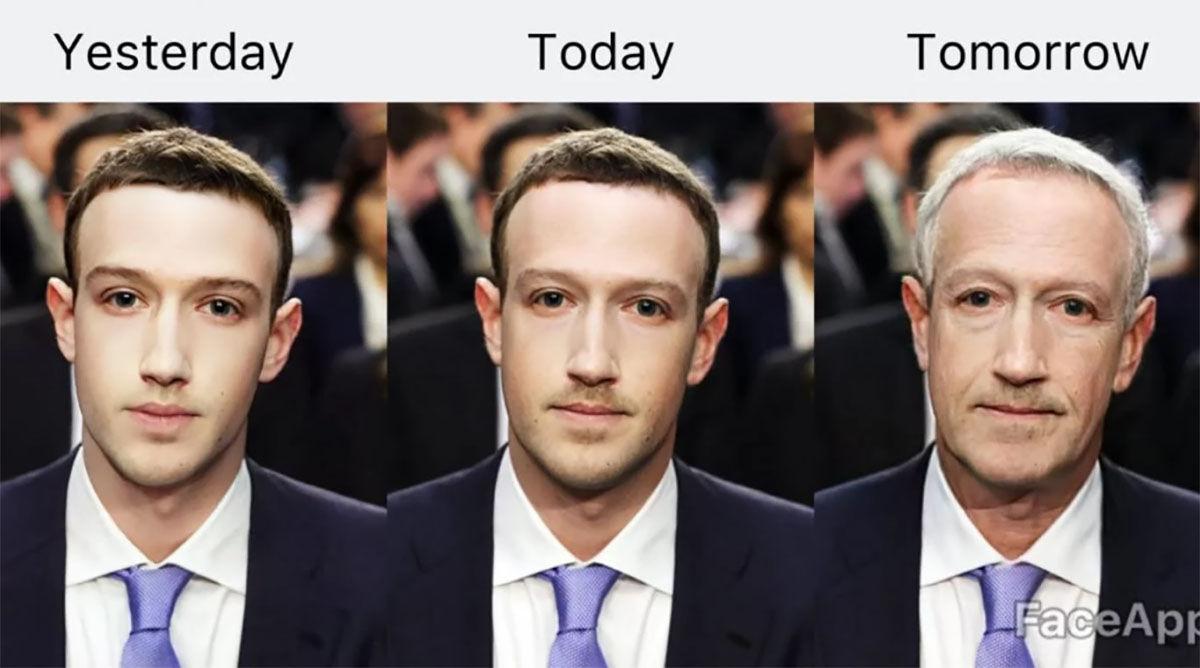 Los peligros de usar FaceApp