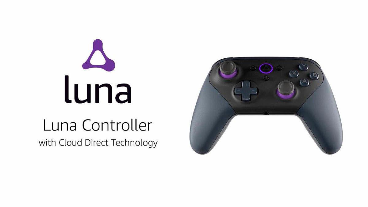Luna controller, mando oficial de Amazon