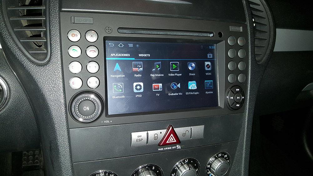 MB SLK Radio Android1