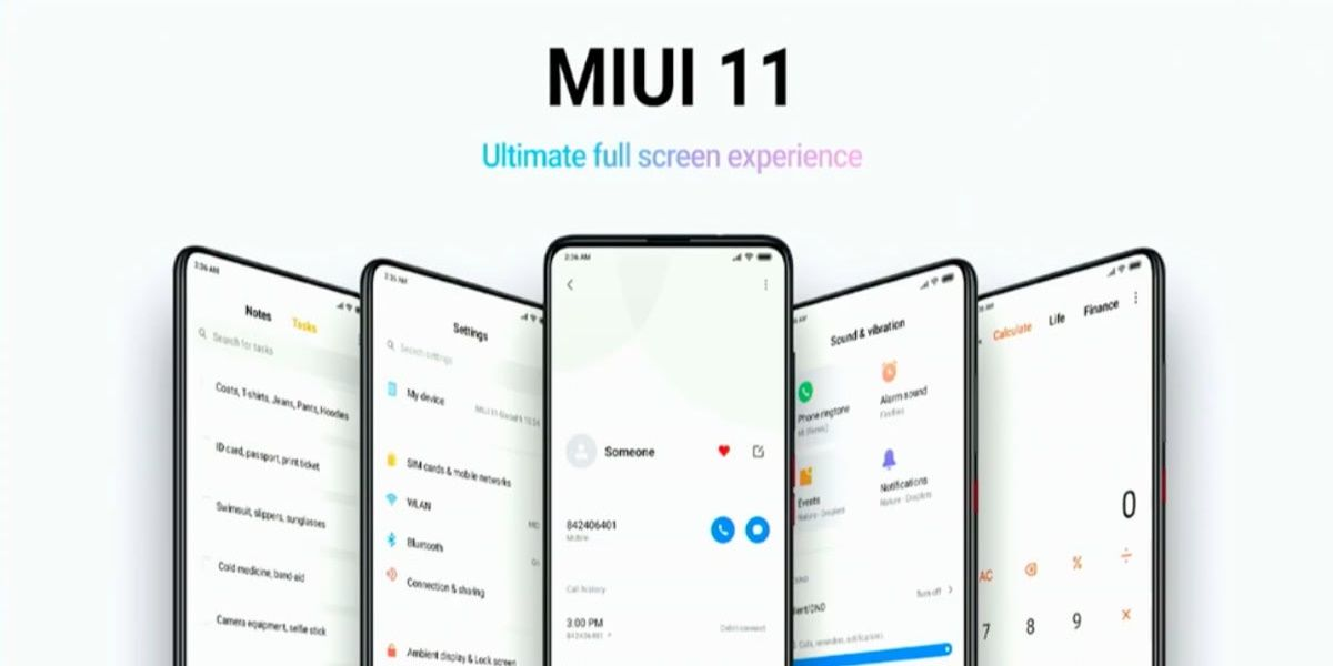 MIUI 11 Global fechas confirmadas moviles