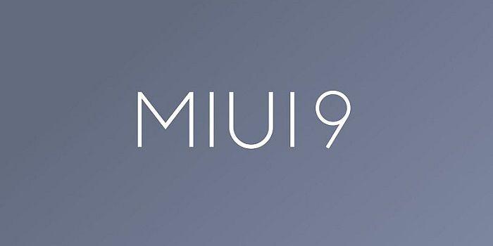 MIUI 9 actualización de móviles
