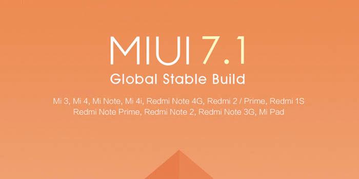 MIUI 7.1 cambios