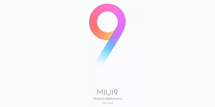 MIUI 9 actualizacion