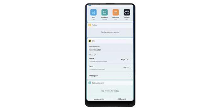 MIUI 9.2 App Vault