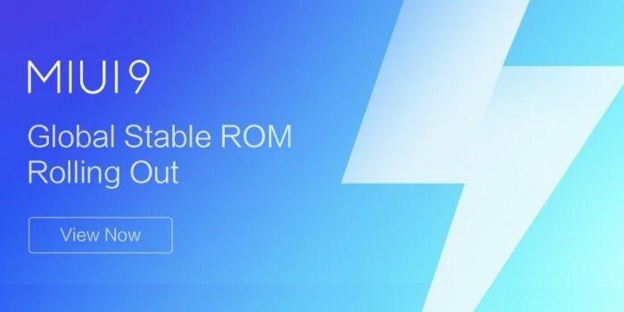 MIUI 9 Redmi Note 4
