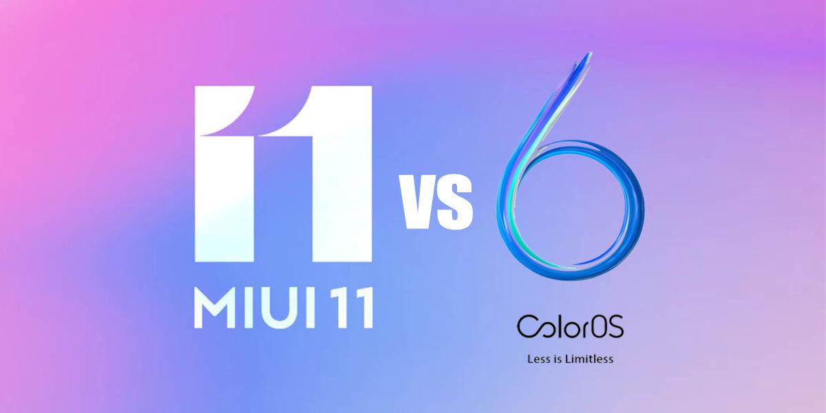MIUI vs colorOS