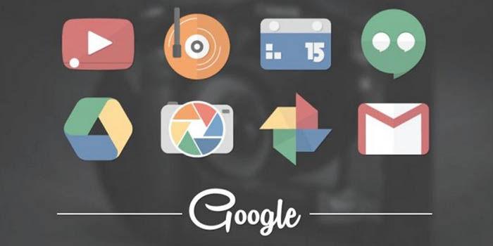 Magnet iconos Google