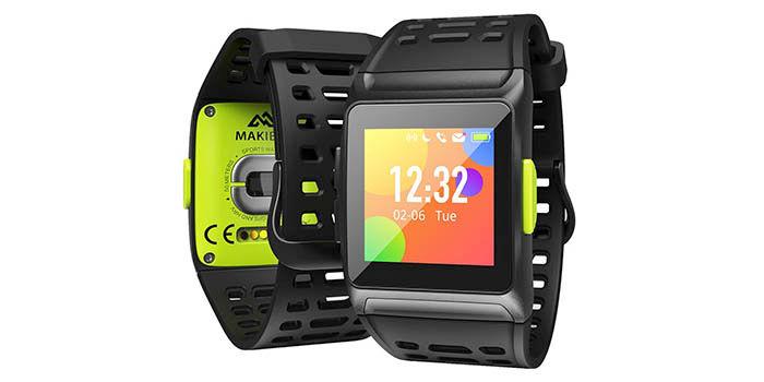 Makibes BR1 pulsera GPS